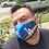 Thumbnail: 2 Masks Custom Stadium/Blue
