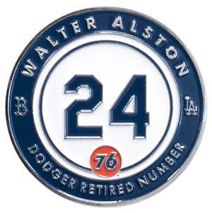 2016 SGA Dodger Retired pin # 24 Walter Aston