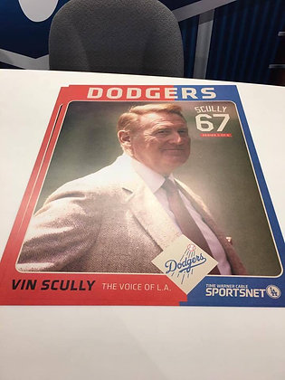 2016 Dodger Stadium Exclusive Poster Vin Scully #5