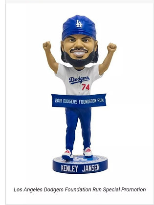 2019 Kenley Jansen bobblehead Foundation new