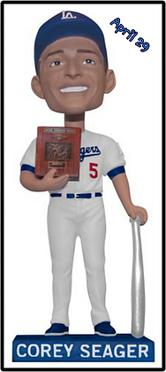 2017 Correy SEAGER Dodgers Bobblehead