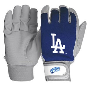 2016 SGA Dodgers Kids Batting Gloves New