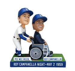 2014 SGA Dodgers Roy Campanella Pee Wee Reese