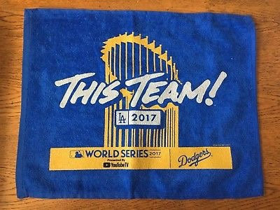 2017 World Series Rally Towel Game 1 This Team