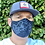Thumbnail: 5 Masks Custom Black/Blue/DDLD/ White/Stadium