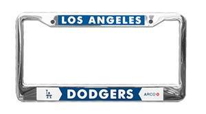 2016 SGA Dodgers License Plate