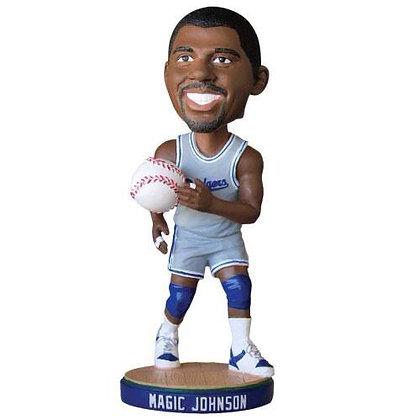 2014 SGA Dodgers  Magic Johnson Bobblehead NEW