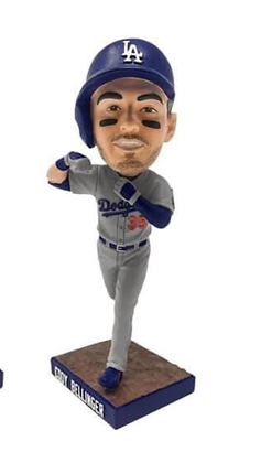 2019 Grey Cody Bellinger  bobblehead  playoffs  new