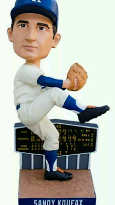 2015 SGA Dodgers Sandy Koufax Bobblehead