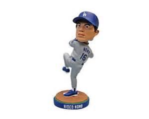 2013 SGA Dodgers Hideo Nomo Bobblehead New