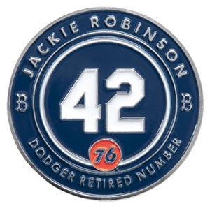 2016 SGA Dodgers Pin Jackie Robinson #42