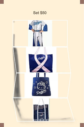 Dodgers Adult Gift Set Great Bags