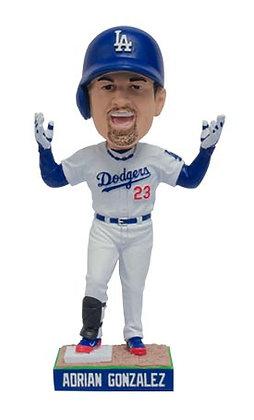 2016 SGA Dodgers Adrian Gonzalez  Bobblehead NEW