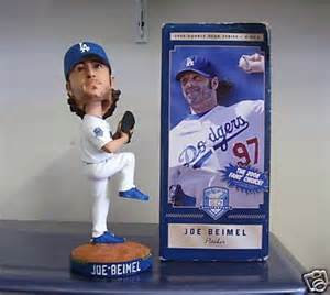 2008 SGA Dodgers Joe Biemel Bobblehead New