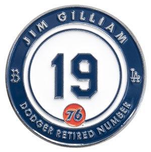 2016 SGA Dodgers Retire Jim Gillian Pin 19