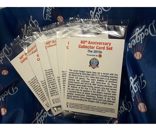 Los Angeles Dodgers Card Set