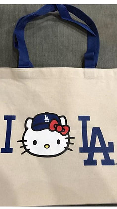 2017 Dodgers Hello KItty Tote