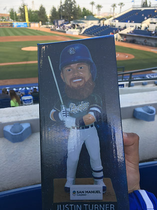 2019 Justin Turner Bobblehead Star Wars Quakes