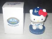 2012 SGA Dodgers Hello Kitty #1 Bobblehead New
