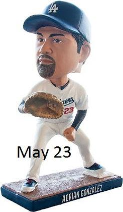 2015 SGA Dodgers Adrian Gonzalez Bobblehead