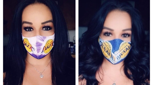 2 Lakers Masks Classic/New