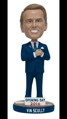 2016 SGA Dodger Vin Scully Bobblehead