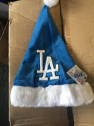 Dodgers KIDS Christmas Hat