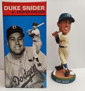 2011 SGA Dodgers Duke Snider Bobblehead New