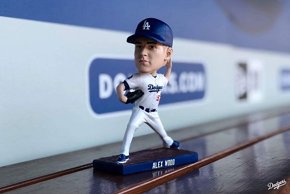 2018 Alex Wood Bobblehead new