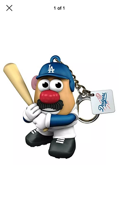 Dodgers Mr Patoto Head Keychain