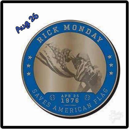 2017 SGA DODGERS Rick Monday Greatest Moments Coin