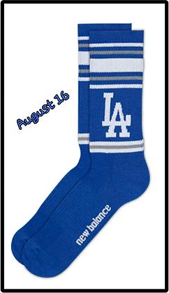 2017 LA Dodgers Socks 1 Pair large