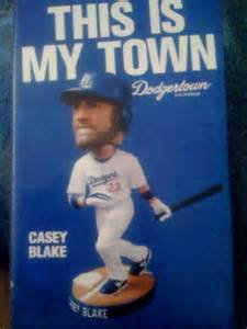 2009 SGA Dodgers Casey Blake Bobblehead New