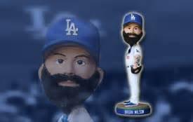2014 SGA Dodgers Brian Wilson Bobblehead NEW
