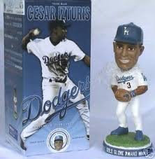 2005 SGA Dodgers Cesar Izturis Bobblehead New