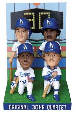2014 SGA Dodgers 30HR Club Bobblehead New
