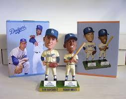 2012 SGA Dodgers Don Drysdale Maury Wills New
