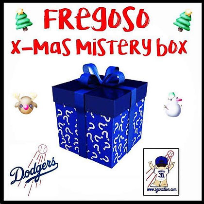 2018 Dodgers Christmas Mystery Box with Autograph Item p