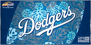 2017  Los Angeles Dodgers Beach Towel SGA