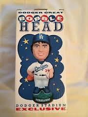 2001 SGA Dodgers Fernando Valenzuela BobbleheadNew