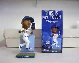 "2010 SGA Dodgers Matt Kemp ""The Wall"" Bobblehead"