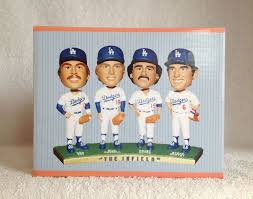 "2012 SGA Dodgers ""The Infield"" Bobblehead New"