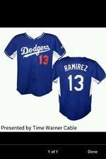 2014 SGA Dodgers H. Ramirez Replica Jersey Kids XL
