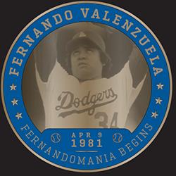 2017 SGA DODGERS Fernando Valenzuela  Greatest