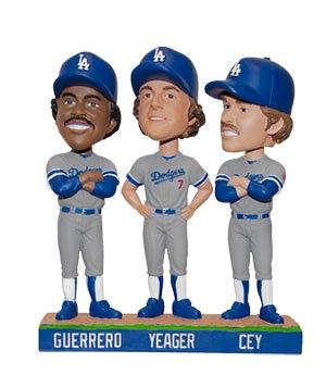 2016 SGA Dodgers Tri MVP Bobblehead