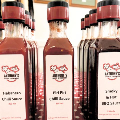 Anthony's Sauces & Condiments