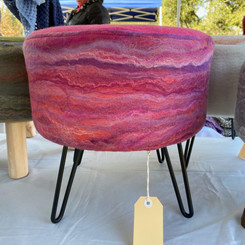 Glen Mist Felt stool