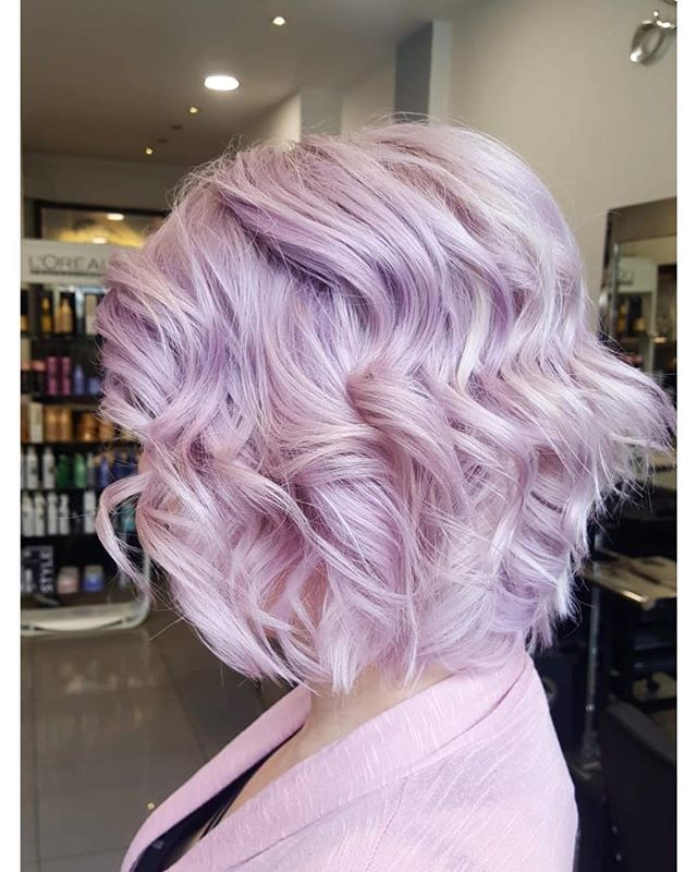 #pinkhair #blondehair #bob #hairstyle #l