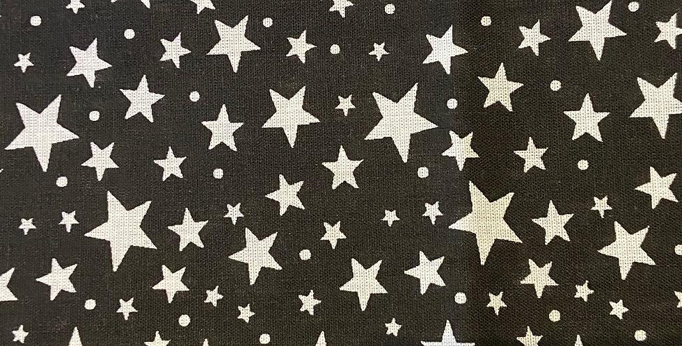 White Stars on Black Bar Cover