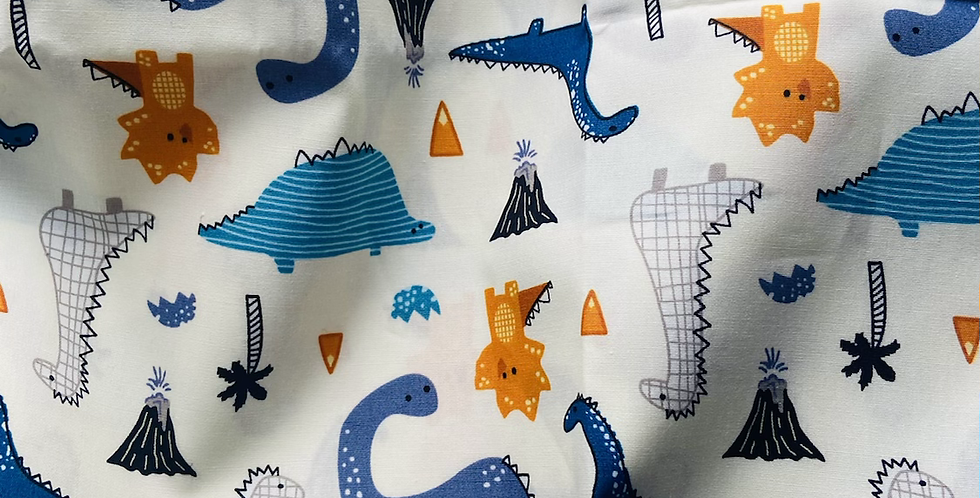 Dinosaur on White Bar Cover